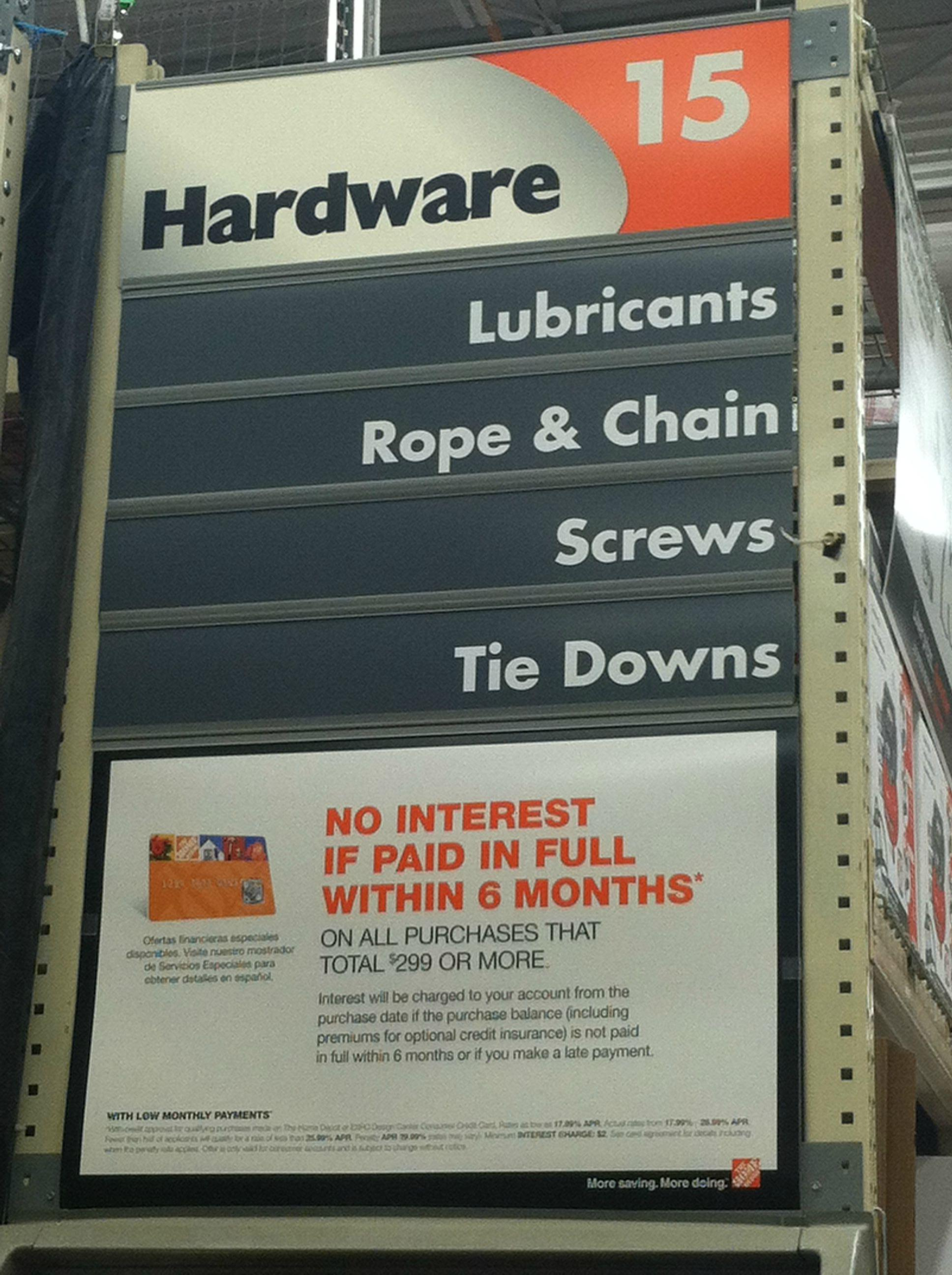Erotic depot store