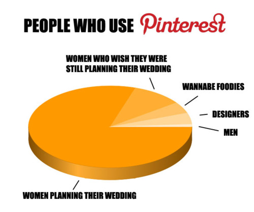 Chart making fun of Pinterest hilarious to anyone who understands Pinterest.