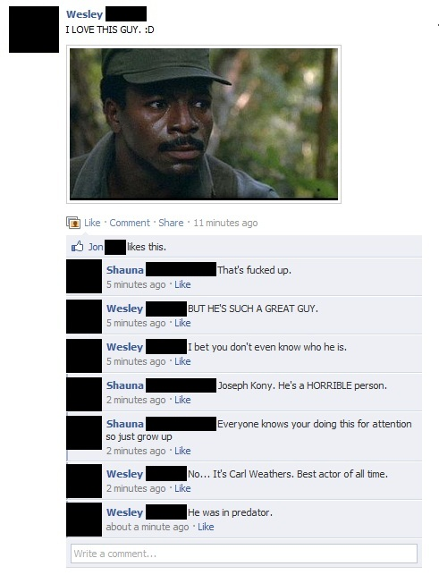 Anti-Kony campaign results in accidental racism on Facebook.