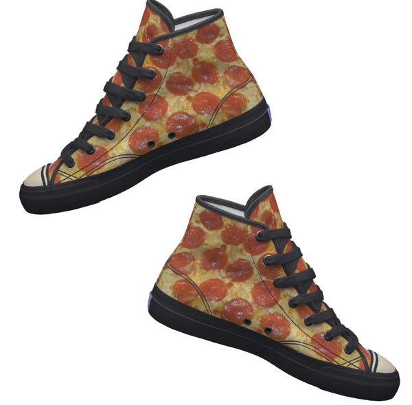 10 must-have items for a wardrobe based entirely on pizza.