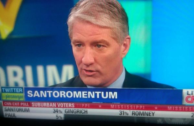 CNN trying way too hard to coin a non-sexual phrase about Santorum.