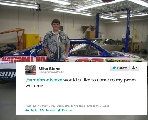 How to use Twitter to guarantee you'll get laid on prom night.