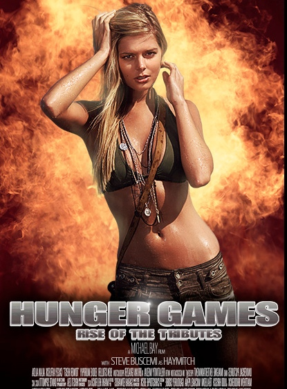 What the movie posters would look like if famous directors made The Hunger Games.