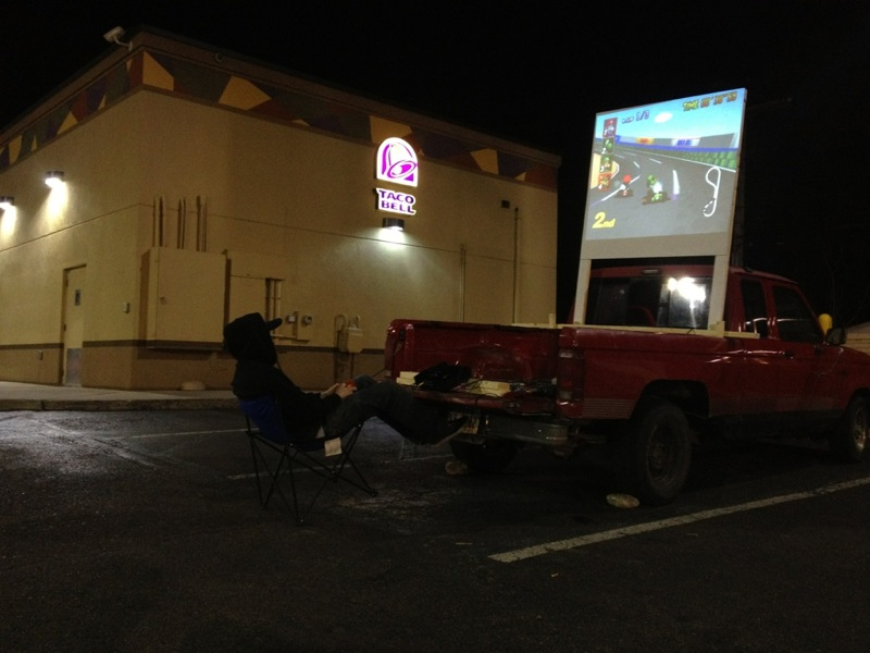 Guy living in Taco Bell parking lot has much better life than you.