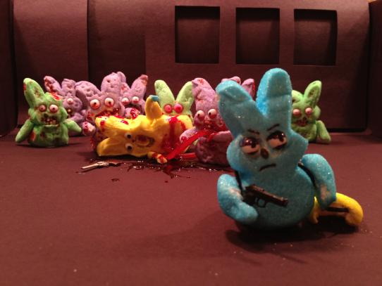 What your favorite TV shows would look like if they starred marshmallow Peeps.