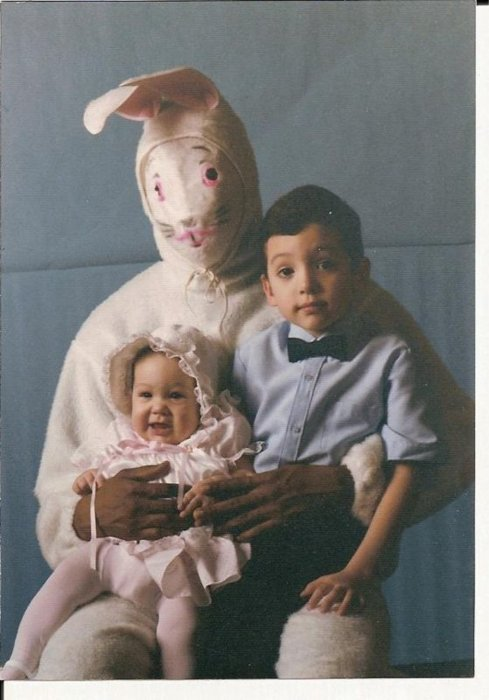 The Best Pictures Of Creepy Easter Bunnies Scaring Chocolate Out Innocent Children
