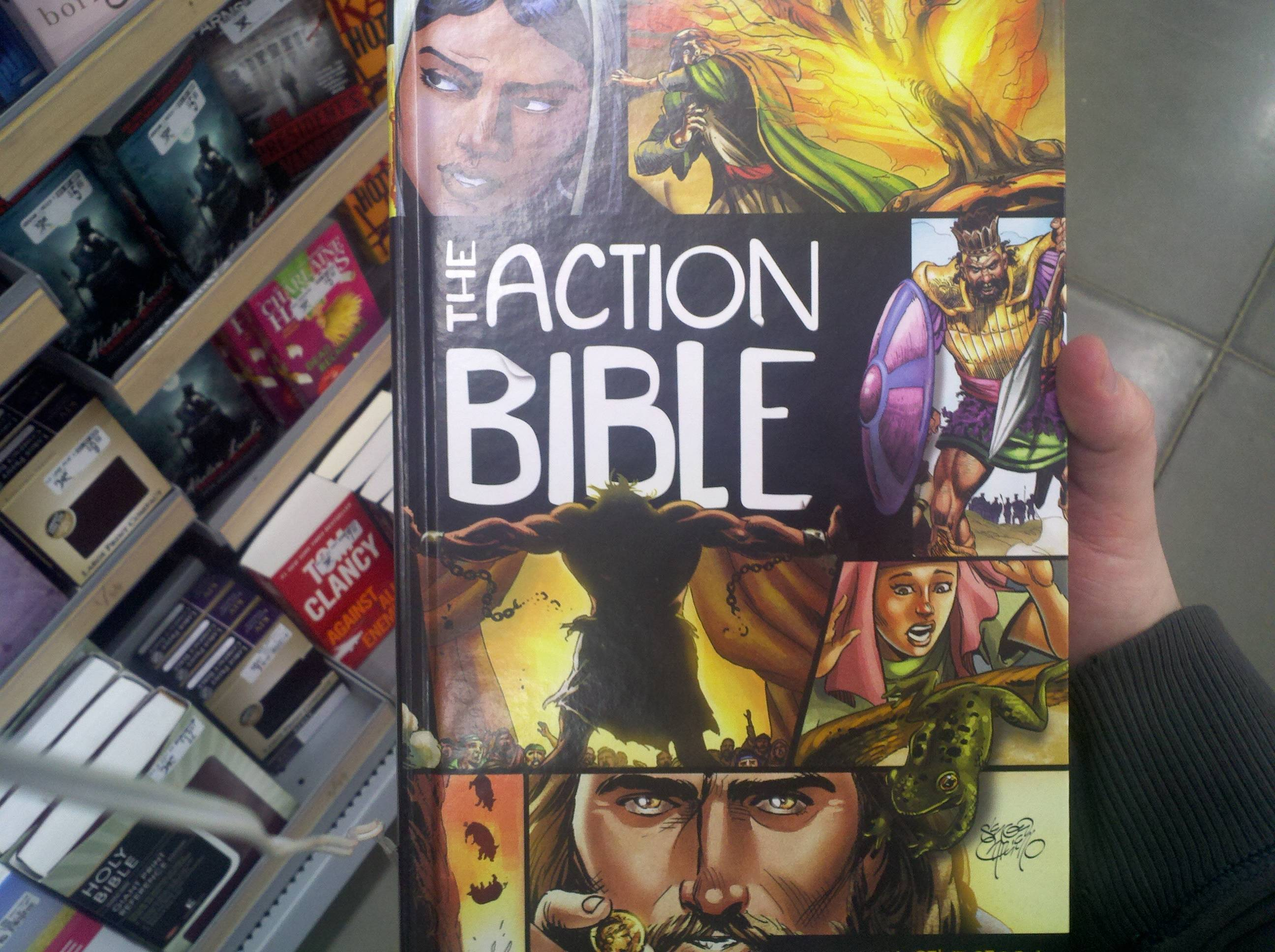 If The Avengers wrote the Bible.