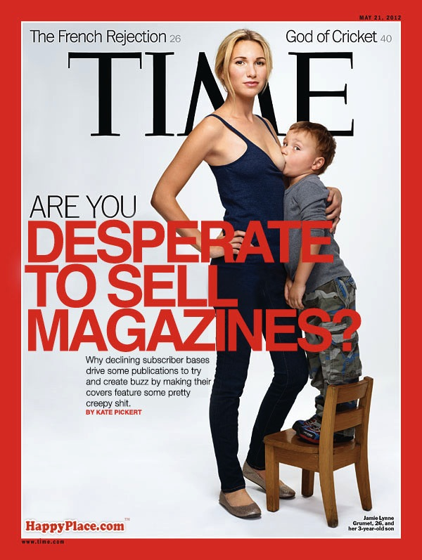 If Time Magazine's new cover was honest.