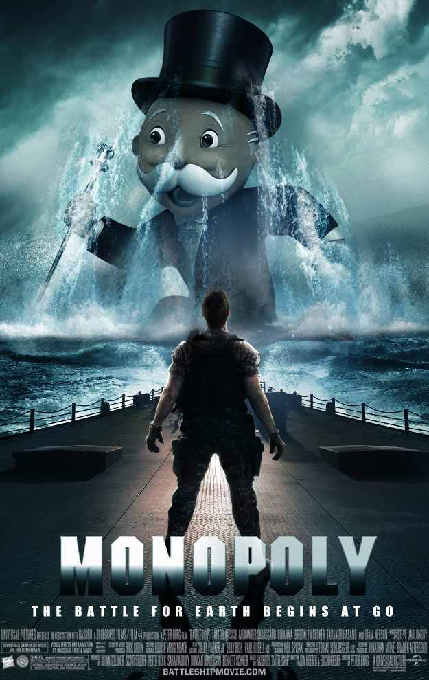If the movie version of Battleship was attempted with other board games.