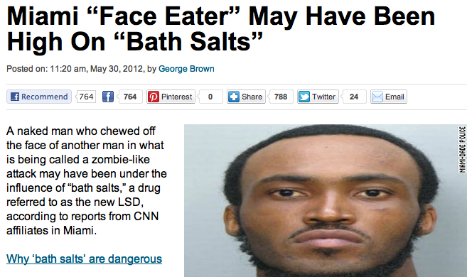 Ten of the most insane things people have done while high on bath salts.