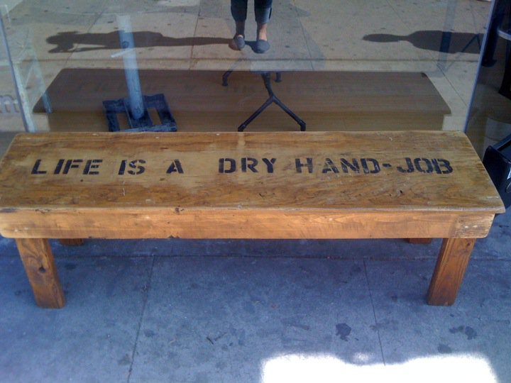 Your life summed up in one piece of furniture.