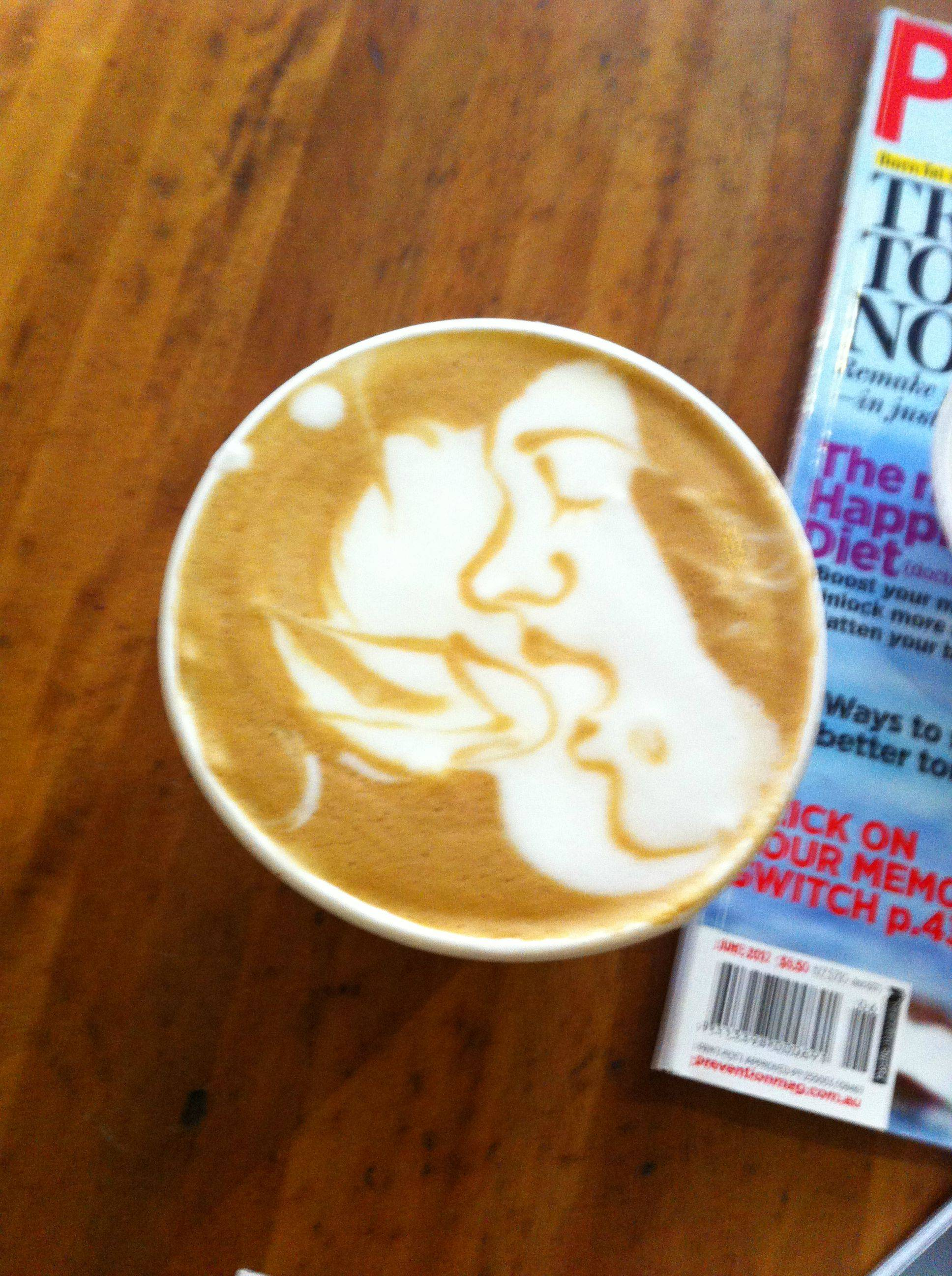 The Mostually Explicit Thing Ever Done With A Latte