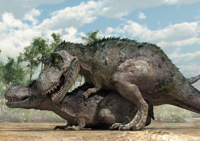 The weirdest porn of the last 65 million years.