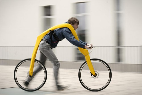Presenting the most laughably impractical mode of transportation ever invented.