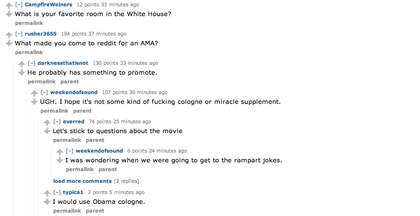 The most awkwardly unfortunate moments from Obama's trip to Reddit.
