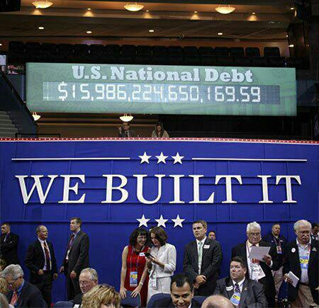 Unfortunate sign placement causes RNC slogan to backfire completely.
