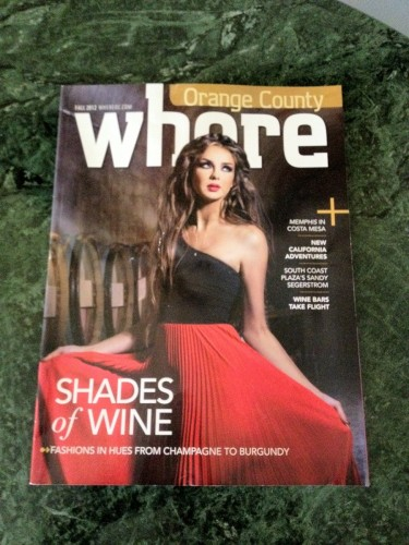 Magazine inadvertently caters to well-traveled prostitutes.