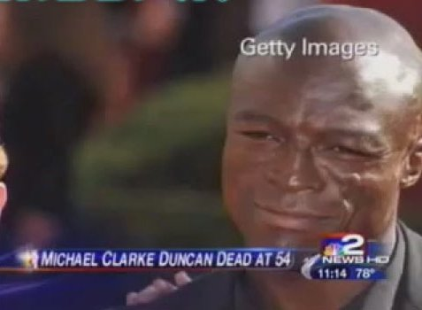 Celebrity death results in two incidents of accidental racism on local news.