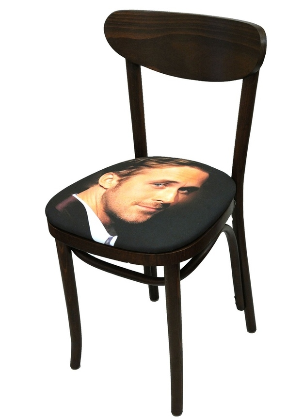 The closest you'll ever get to sitting on your favorite celebrity's face.