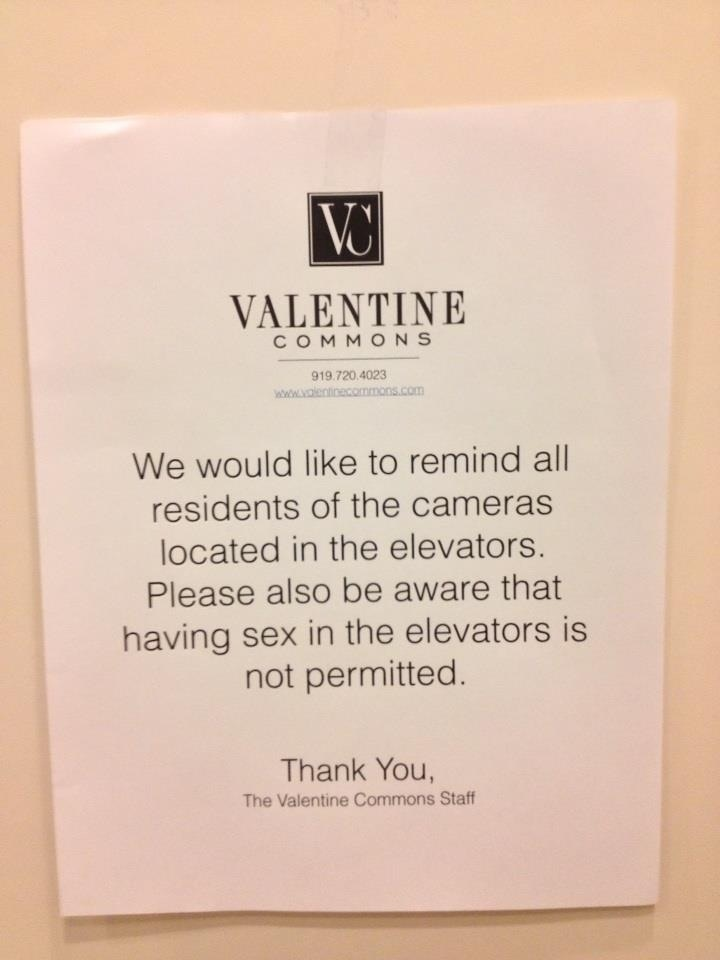 10 passive-aggressive elevator notes that will make you feel better about your vertical commute.