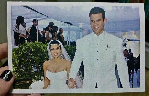 Couple has a very Kardashian celebration of their own anniversary.