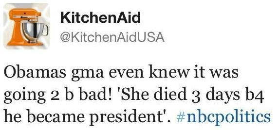 The most disastrous corporate tweet from last night's debate.