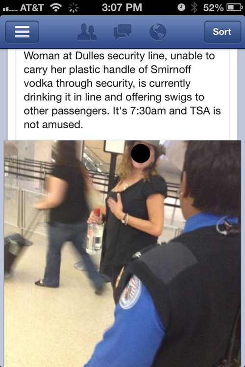 How to use the TSA to justify your full-blown alcoholism.