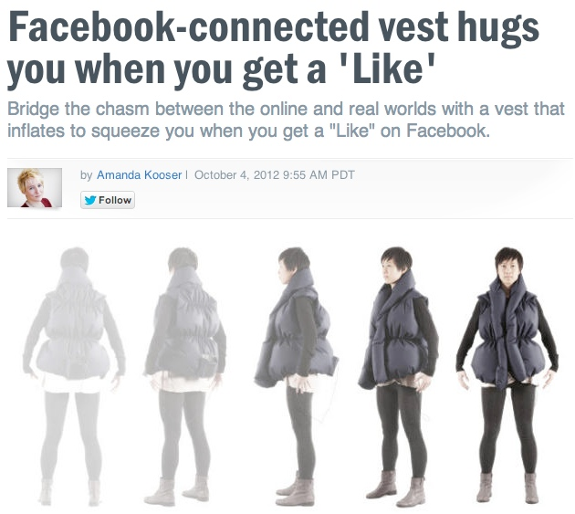 New product turns your Facebook popularity into the physical affection you so desperately crave.