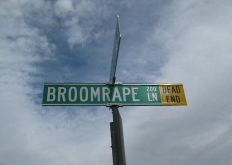 The most terrifyingly named road in America.