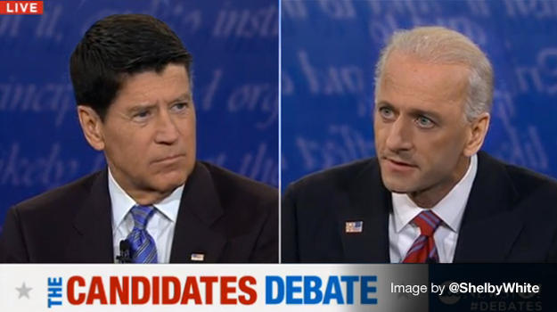 If the vice presidential candidates traded hairstyles.