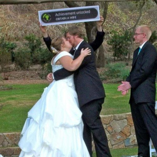 How to celebrate your wedding if you're a huge nerd.