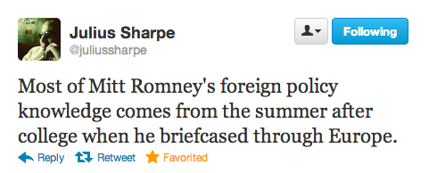 25 debate tweets funnier than your horse and bayonet Halloween costume.