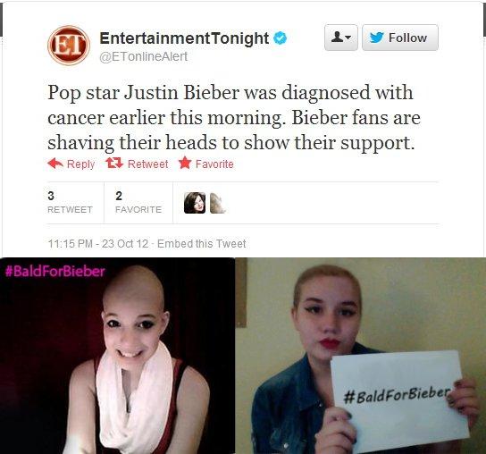 Master internet trolls play ultimate prank on Justin Bieber fans.