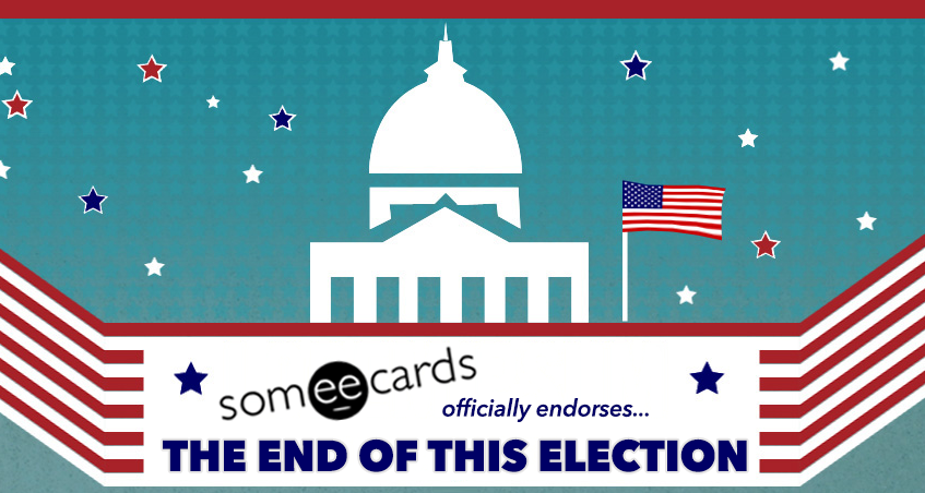 The Someecards official endorsement for the 2012 election.