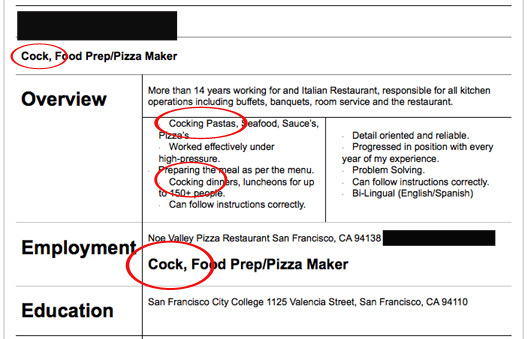 40 impressively terrible resumés that will make sure employers remember (to never hire) you.