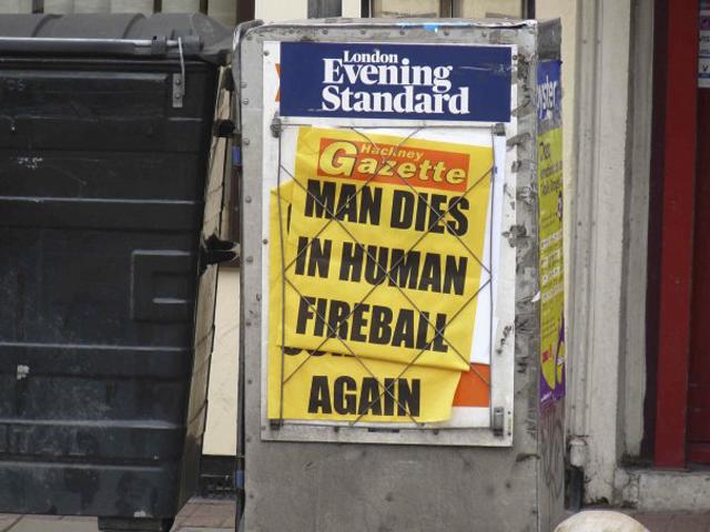 Unfortunate headline juxtaposition makes bad news look even worse.
