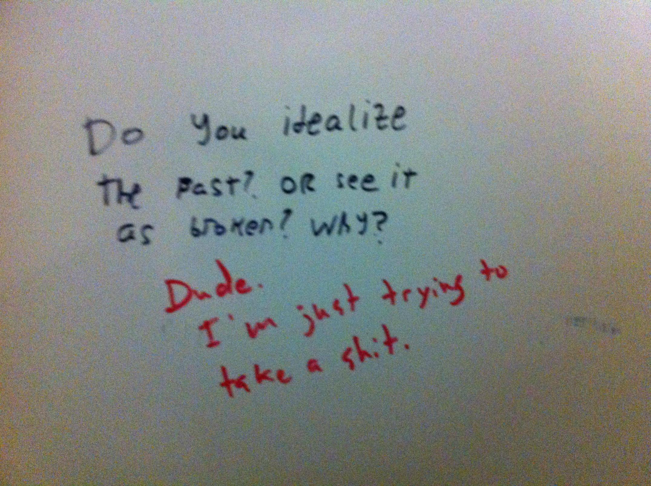 Funny Bathroom Wall Graffiti bathroom stall art is the purest form - healthydetroiter