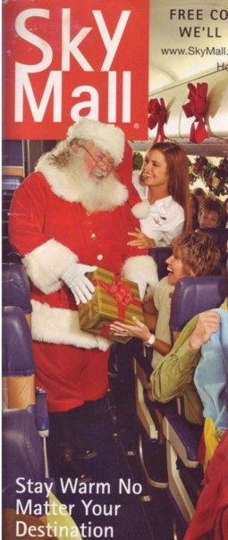 Magazine cover accidentally captures Santa delivering everyone's favorite erotic gift.