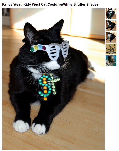 New pet accessory lets you pretend your cat had unprotected sex with Kim Kardashian.