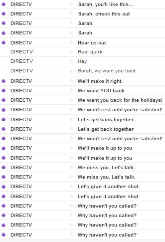 Why DirecTV is the craziest ex you could ever have.