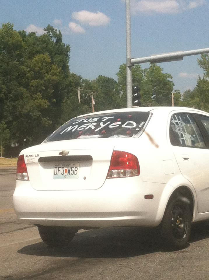 Missouri newlyweds depress everyone on road with their illiterate bliss.