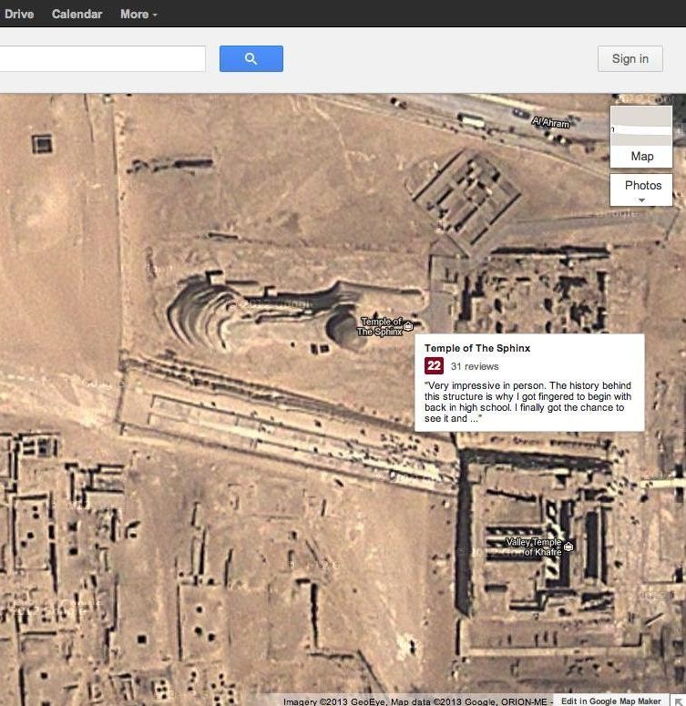 Girl uses Google Earth to reminisce about teenage sexual discovery.