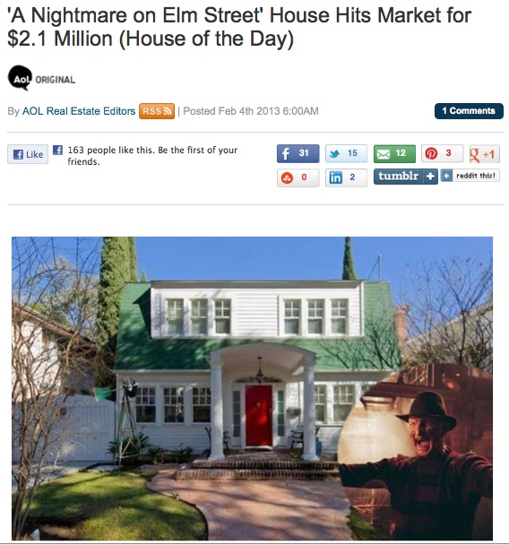 The most terrifying house on the market that you can't afford anyway.