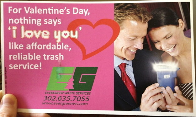 The one gift your Valentine can't wait to throw in the garbage.