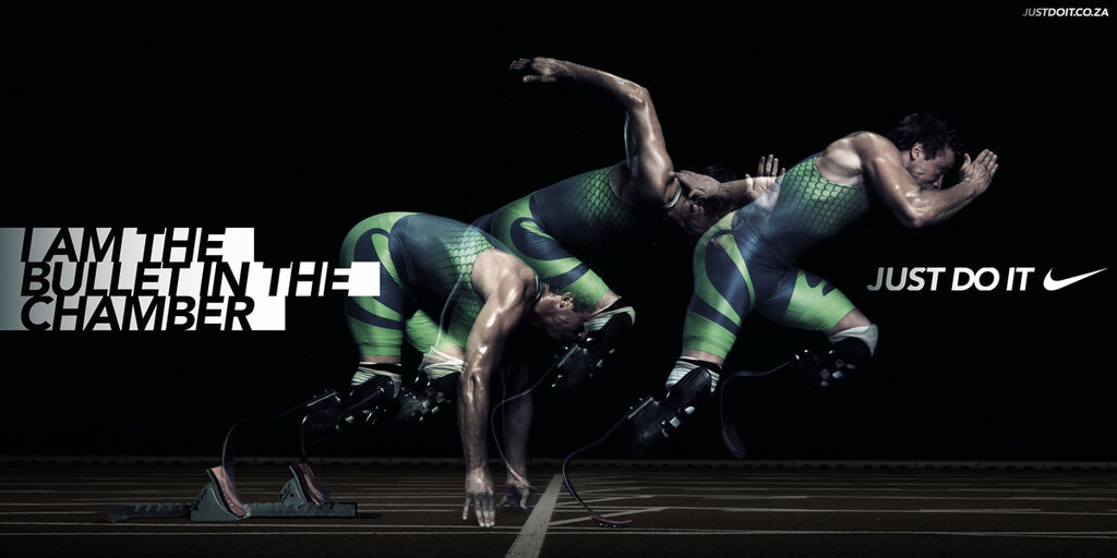 An Oscar Pistorius ad that Nike is probably really regretting right about now.