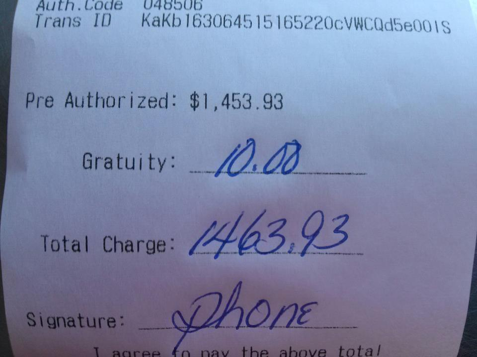 The latest contender for the single worst tip ever given.