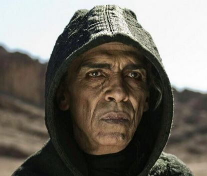 """History Channel's """"The Bible"""" miniseries uses Obama lookalike to play the role of Satan."""