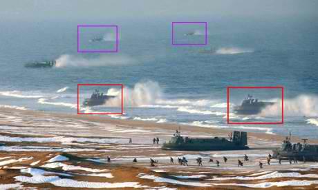 North Korea's navy was built entirely in photoshop.