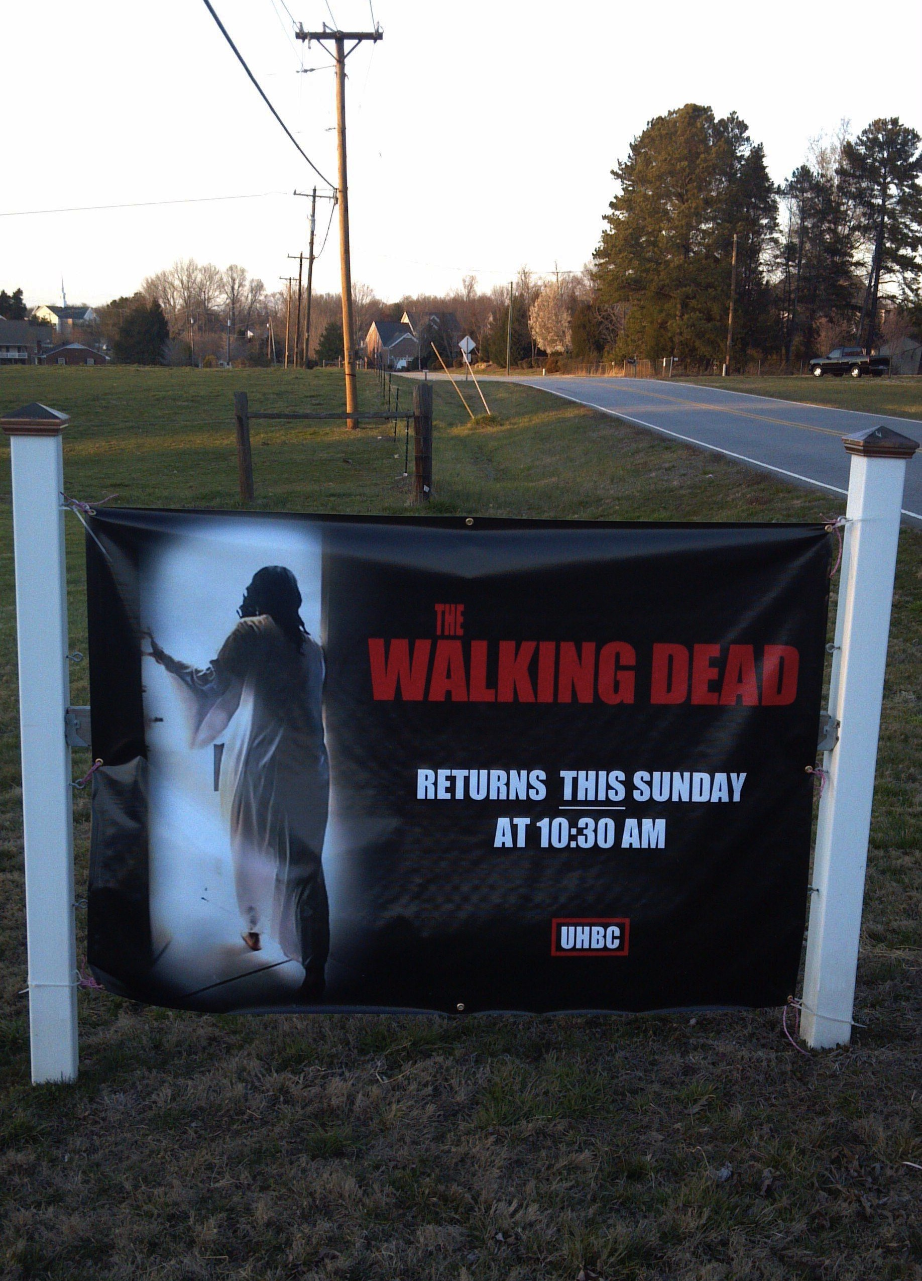 Baptist church tries to pack Easter mass by cashing in on the zombie craze.