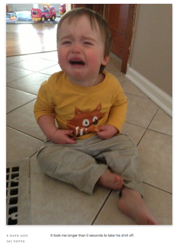 One dad is chronicling every single time his son cries and the reason why. It will convince you not to have children.